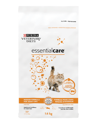 essentialcare® Adult Dry Formula for Indoor Cats